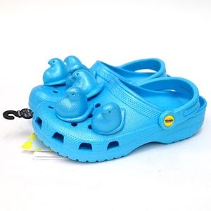 Peeps X Crocs Blue Classic Clog Slide On Sandal